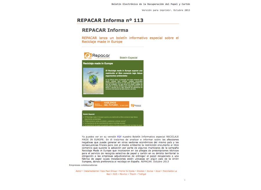 REPACAR Informa 106